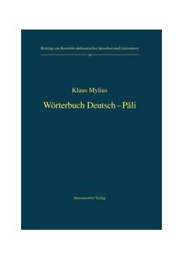 Abbildung von Mylius | Wörterbuch Deutsch-Pali | 2008 | 18