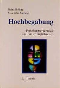 Abbildung von Holling / Kanning   Hochbegabung   1999