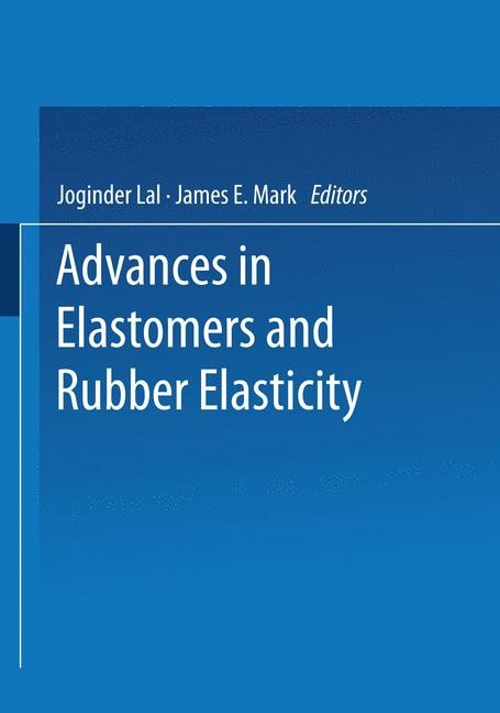Abbildung von Lal / Mark | Advances in Elastomers and Rubber Elasticity | 1987