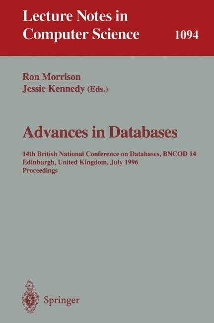 Advances in Databases   Morrison / Kennedy, 1996   Buch (Cover)
