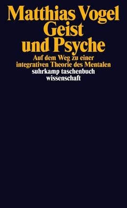 Abbildung von Vogel | Geist und Psyche | Originalausgabe | 2020 | Auf dem Weg zu einer integrati... | 1672