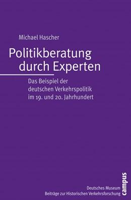 Abbildung von Hascher | Politikberatung durch Experten | 2006