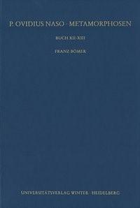 Abbildung von Bömer | Buch XII-XIII | 2., unveränderte Auflage | 2006
