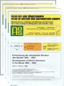 Atlas Ost- und Südosteuropa | Österreichisches Ost- und Südosteuropa-Institut / Wolf / Jordan / Kahl / Förster / Partl, 2005 | Buch (Cover)