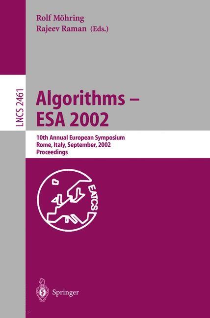 Abbildung von Möhring / Raman | Algorithms - ESA 2002 | 2002