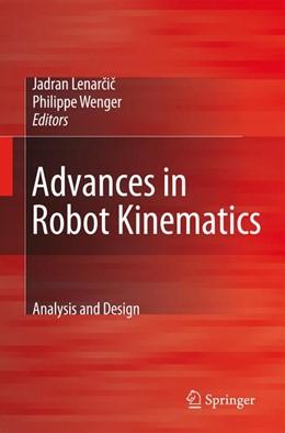 Abbildung von Lenarcic / Wenger   Advances in Robot Kinematics: Analysis and Design   2008