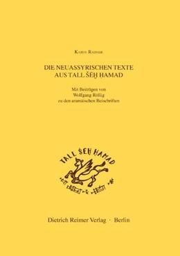 Abbildung von Radner | Die neuassyrischen Texte aus Tall Seh Hamad | 2003 | Mit Beiträgen zu den aramäisch... | 6