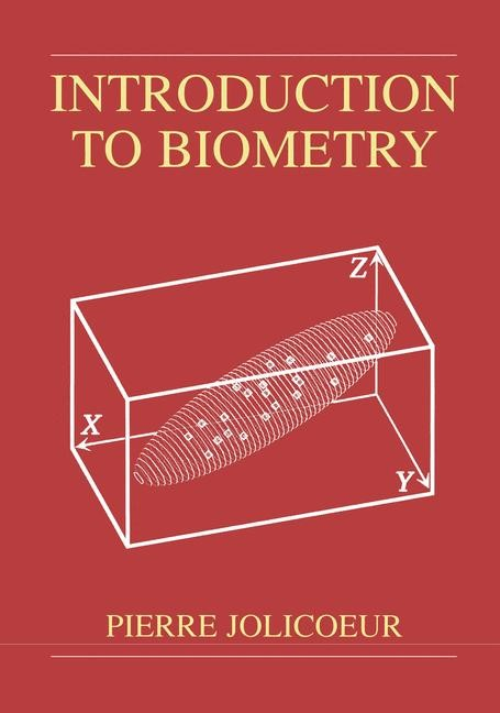 Abbildung von Jolicoeur | Introduction to Biometry | 1999