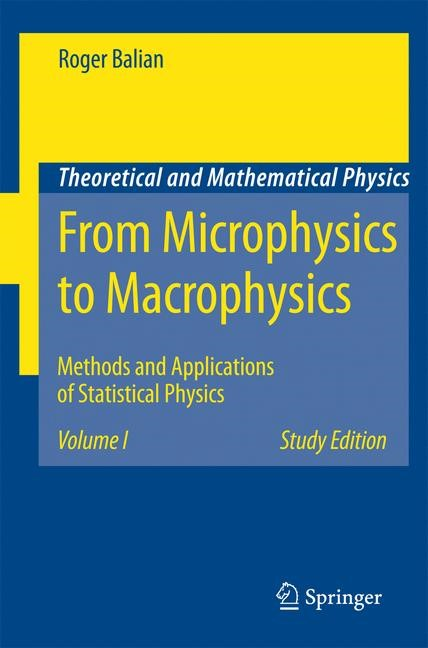 Abbildung von Balian | From Microphysics to Macrophysics | 1st ed. 1991. 2nd printing | 2006