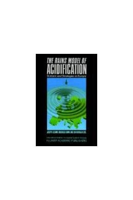 Abbildung von Alcamo / Shaw / Hordijk | The RAINS Model of Acidification | 1990 | Science and Strategies in Euro...