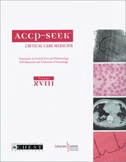 Abbildung von ACCP-SEEK | 2008 | Assessment in Critical Care an...