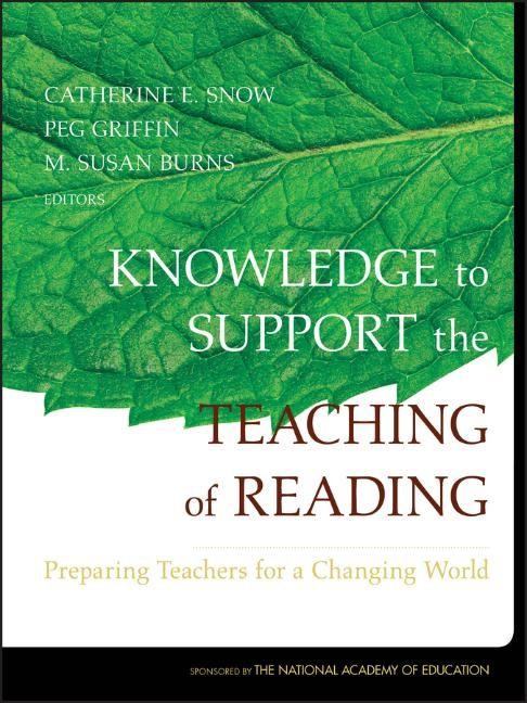 Abbildung von Snow / Griffin / Burns | Knowledge to Support the Teaching of Reading | 2007