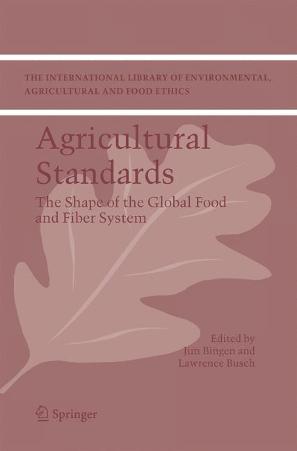 Abbildung von Bingen / Busch   Agricultural Standards   2005
