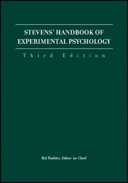 Abbildung von Pashler / Yantis / Medin / Gallistel / Wixted | Stevens' Handbook of Experimental Psychology | 3. Auflage | 2004 | 4-Volume Set