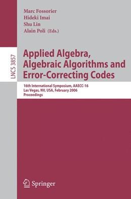 Abbildung von Fossorier / Imai / Lin / Poli   Applied Algebra, Algebraic Algorithms and Error-Correcting Codes   2006   16th International Symposium, ...