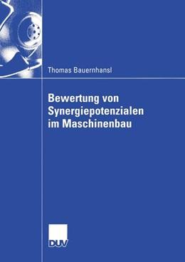 Abbildung von Bauernhansl | Bewertung von Synergiepotenzialen im Maschinenbau | 2003