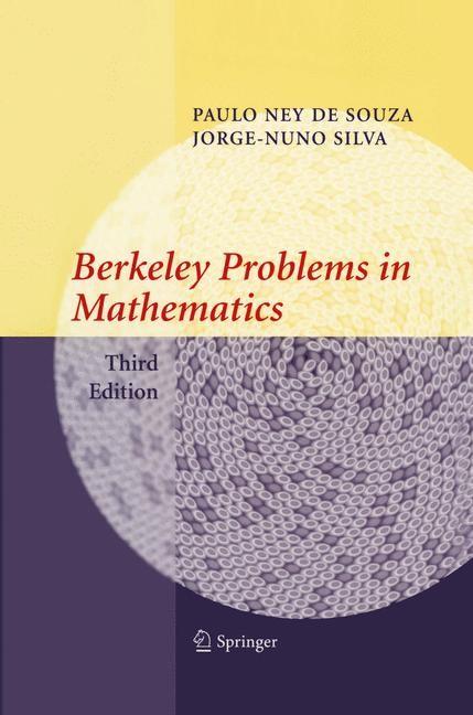 Abbildung von de Souza / Silva | Berkeley Problems in Mathematics | 3rd ed. | 2004