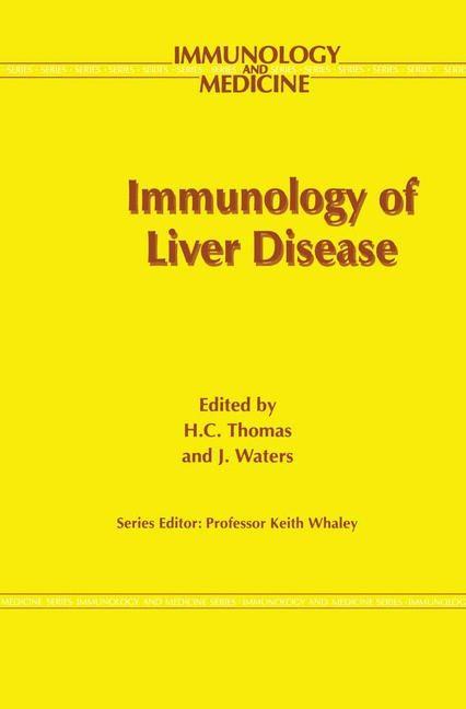 Abbildung von Thomas / Waters   Immunology of Liver Disease   1993