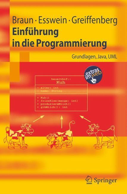 Abbildung von Braun / Esswein / Greiffenberg   Einführung in die Programmierung   2006