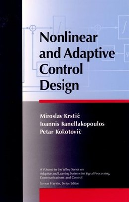 Abbildung von Krstic / Kanellakopoulos / Kokotovic | Nonlinear and Adaptive Control Design | 1995