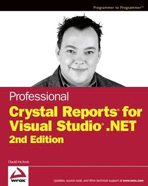 Abbildung von McAmis | Professional Crystal Reports for Visual Studio .NET | 2. Auflage | 2004