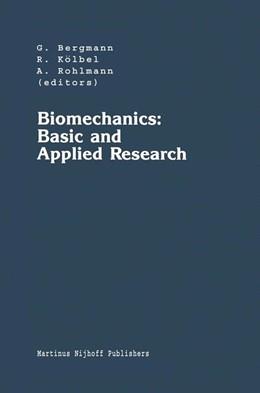 Abbildung von Bergmann / Kölbel / Rohlmann | Biomechanics: Basic and Applied Research | 1987 | Selected Proceedings of the Fi... | 3