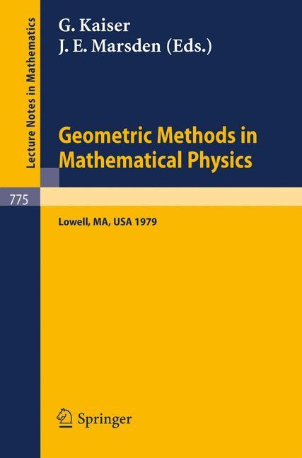 Abbildung von Kaiser / Marsden   Geometric Methods in Mathematical Physics   1980