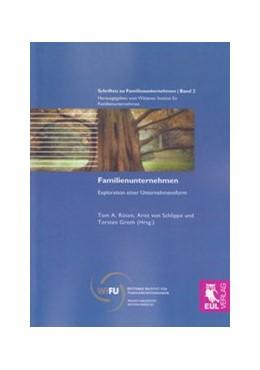 Abbildung von Rüsen / von Schlippe / Groth | Familienunternehmen | 2009 | Exploration einer Unternehmens... | 2