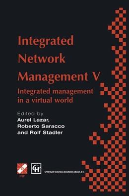 Abbildung von Lazar / Saracco | Integrated Network Management V | 1997 | Integrated management in a vir...