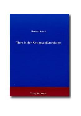 Abbildung von Schaal | Tiere in der Zwangsvollstreckung | 2000 | 75