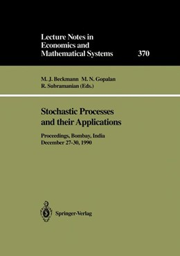 Abbildung von Beckmann / Gopalan / Subramanian | Stochastic Processes and their Applications | 1991 | Proceedings of the Symposium h... | 370