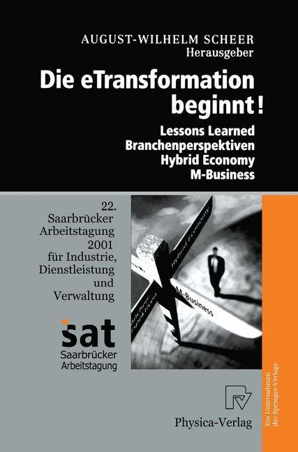 Abbildung von Scheer | Die Etransformation Beginnt! | 2002 | 2001