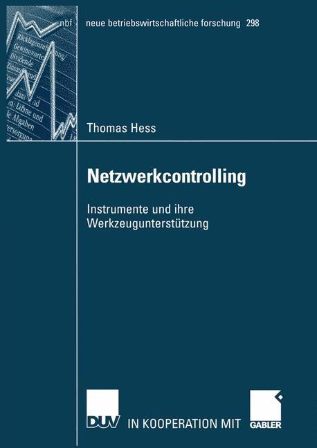 Abbildung von Hess | Netzwerkcontrolling | 2002