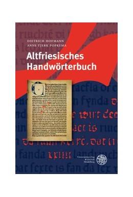 Abbildung von Hofmann / Popkema | Altfriesisches Handwörterbuch | 2008