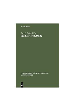 Abbildung von Dillard | Black Names | Reprint 2012 | 1976 | 13