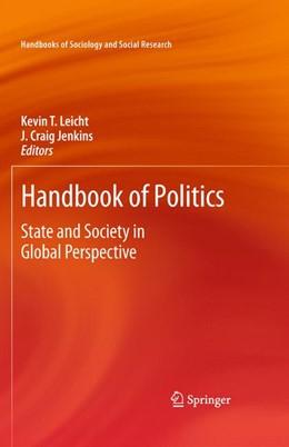 Abbildung von Leicht / Jenkins | Handbook of Politics | 2009 | State and Society in Global Pe...