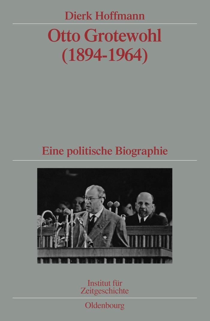 Abbildung von Hoffmann | Otto Grotewohl (1894-1964) | 2009
