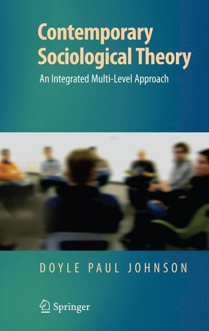 Abbildung von Johnson | Contemporary Sociological Theory | 2008