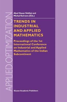 Abbildung von Siddiqi / Kocvara | Trends in Industrial and Applied Mathematics | 2002 | Proceedings of the 1st Interna... | 72