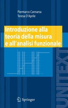Abbildung von Cannarsa / D'Aprile | Introduzione alla teoria della misura e all'analisi funzionale | 2008