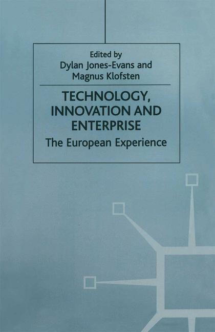 Abbildung von Jones-Evans / Klofsten | Technology, Innovation and Enterprise | 1997 | 1997