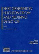 Abbildung von Diwan / Jung | Next Generation Nucleon Decay and Neutrino Detector: NNN99 | 2000