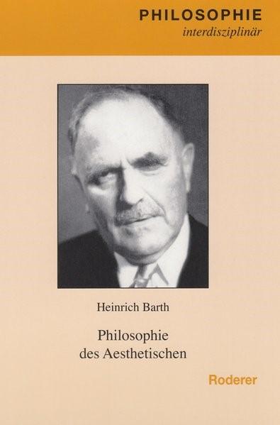 Abbildung von Barth   Philosophie des Aesthetischen   2006