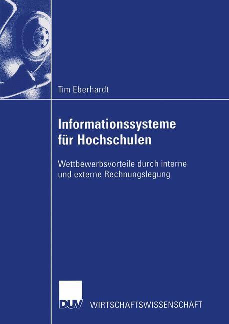 Abbildung von Eberhardt | Informationssysteme für Hochschulen | 2003