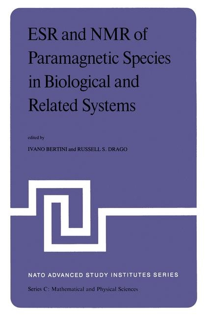 Abbildung von Bertini / Drago   ESR and NMR of Paramagnetic Species in Biological and Related Systems   1979