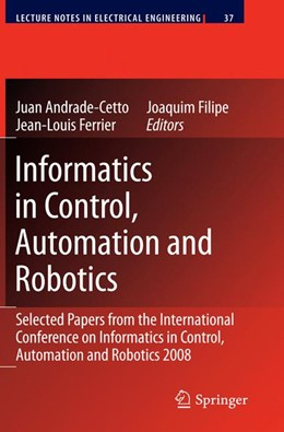 Abbildung von Andrade Cetto / Ferrier / Filipe | Informatics in Control, Automation and Robotics | 2009 | Selected Papers from the Inter... | 37