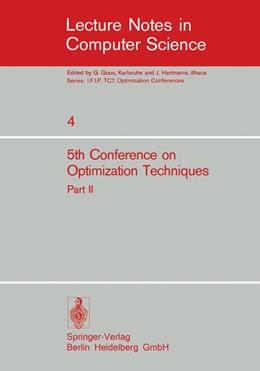Abbildung von Conti / Ruberti | Fifth Conference on Optimization Techniques. Rome 1973 | 1973 | Part 2 | 4