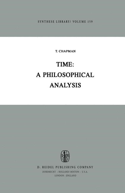 Abbildung von Chapman   Time: A Philosophical Analysis   1982