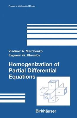 Abbildung von Marchenko / Khruslov | Homogenization of Partial Differential Equations | 2005 | 46