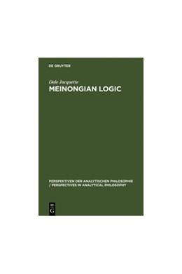 Abbildung von Jacquette | Meinongian Logic | Reprint 2011 | 1996